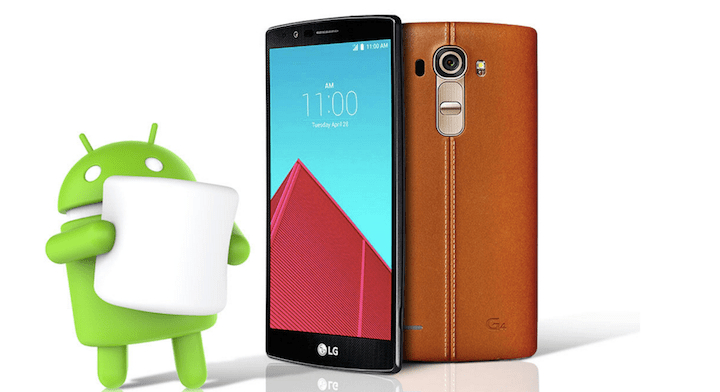 LG G4 comienza a recibir Android 6.0 Marshmallow