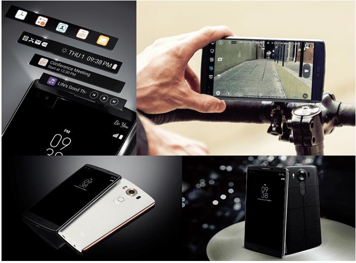 Imagen - LG V10, el móvil con dos pantallas
