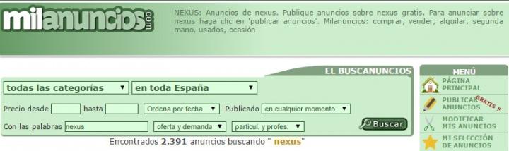 Imagen - 6 sitios donde comprar el Nexus de segunda mano