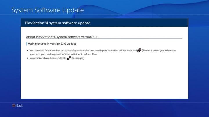 Imagen - Descarga el firmware 3.10 de PlayStation 4 con mejoras en los mensajes