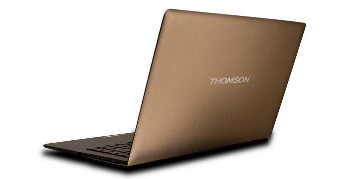 Thomson vuelve a España con un notebook ultrafino
