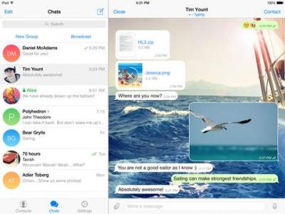 Imagen - Telegram recibe una gran actualización para iPhone 6s, iPad y Apple Watch