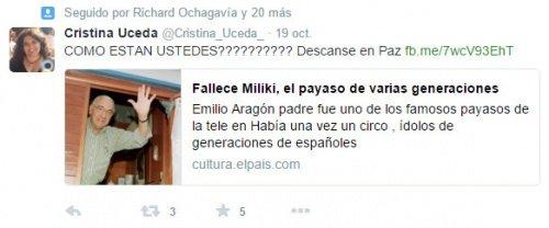 Imagen - La muerte de Miliki se vuelve viral tres años después