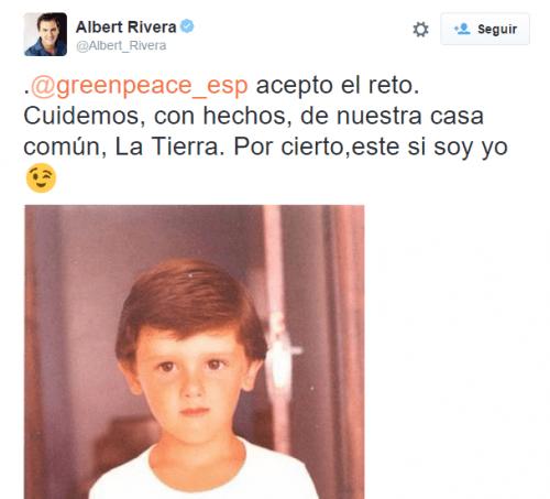 Imagen - Greenpeace se vuelve viral por convertir a los políticos en niños