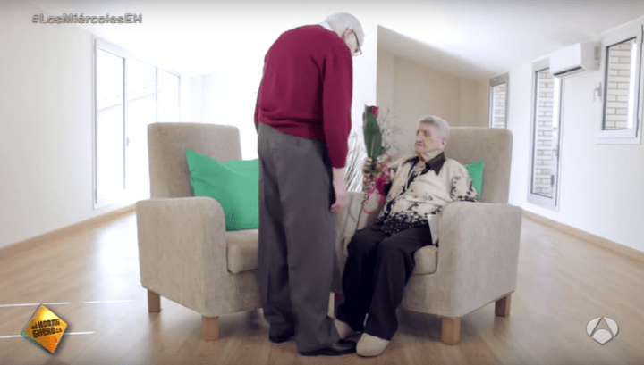 """El viral de """"el amor no tiene edad """" de El Hormiguero triunfa en las redes"""