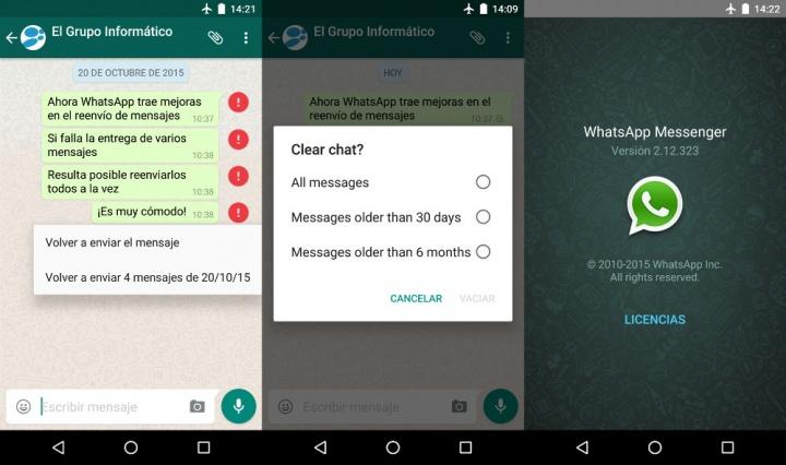 Imagen - Descarga WhatsApp 2.12.323 beta con mejoras en el reenvío de mensajes