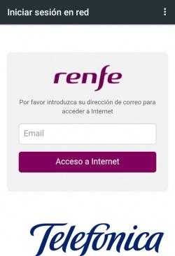 Imagen - Renfe presenta su oferta de Wi-Fi en AVE y Cercanías de mano de Telefónica
