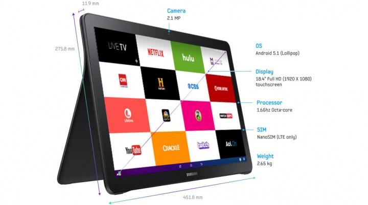 Imagen - Samsung Galaxy View, la tablet de 18,4 pulgadas ya es oficial