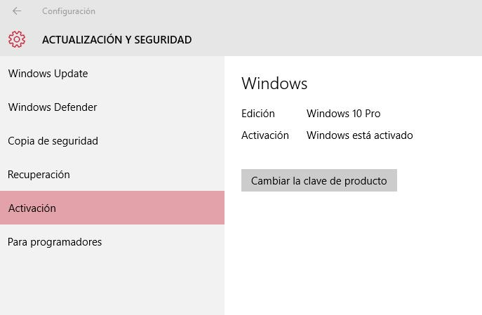 Imagen - Windows 10 ya se puede activar con la clave de Windows 7 y 8.1