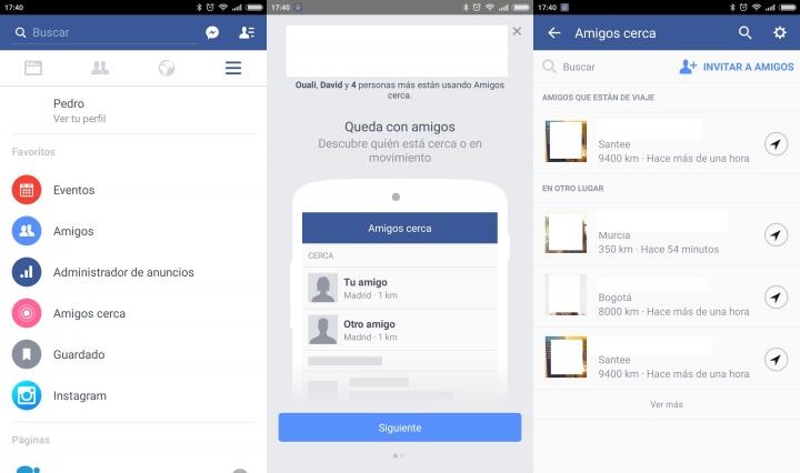 """Imagen - ¿Qué es """"Amigos cerca"""" en Facebook?"""