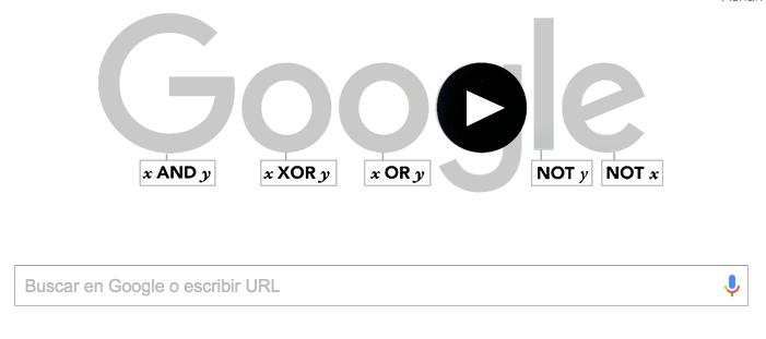 Imagen - Google recuerda a George Boole con un Doodle