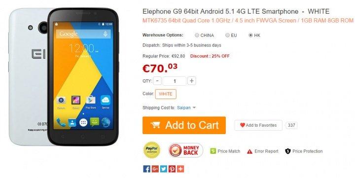 Imagen - 7 móviles Android por menos de 90 euros