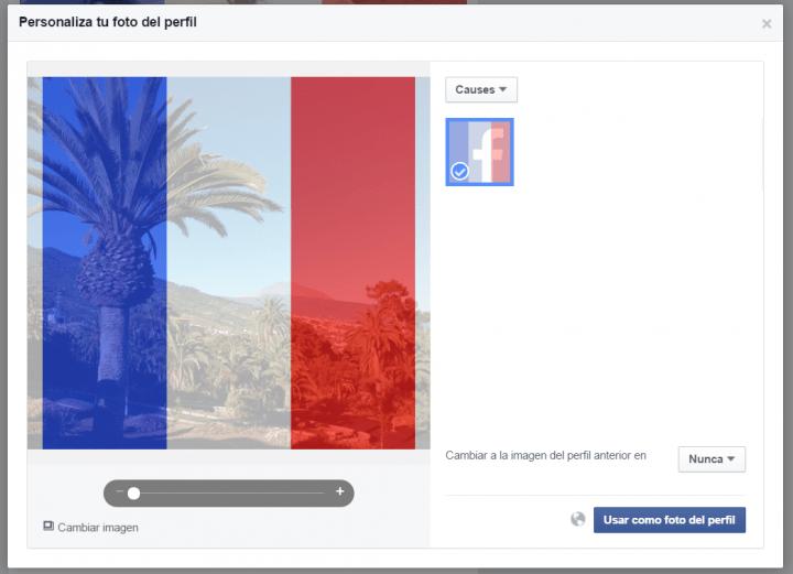 Imagen - Cambia tu foto en Facebook para apoyar a Francia