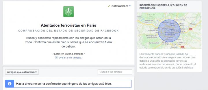 Imagen - Facebook lanza una herramienta para buscar a nuestros amigos en París