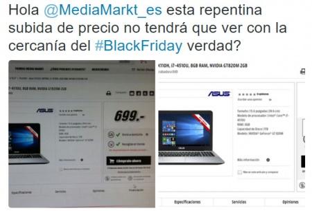 Imagen - Media Markt podría estar subiendo los precios de cara al Black Friday
