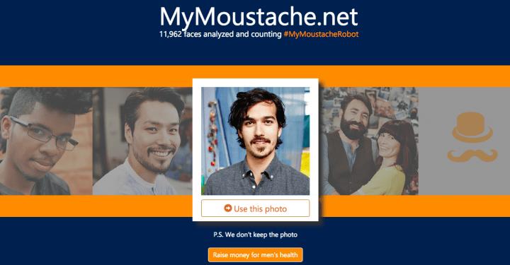 MyMoustache, la nueva herramienta de Microsoft muy al estilo Movember