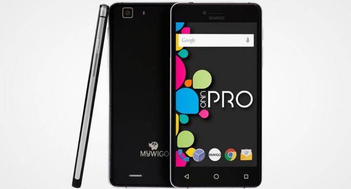 MyWigo Uno y Uno Pro, especificaciones y precios de los smartphones premium españoles