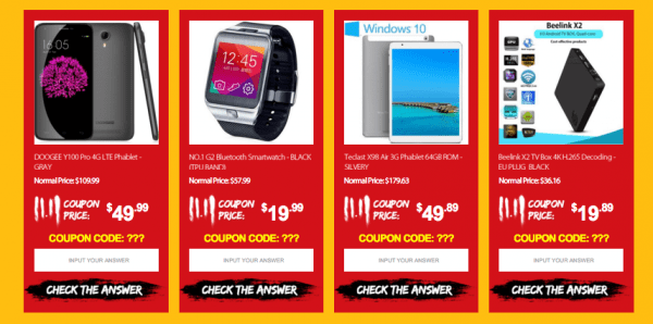 Imagen - Gearbest celebra el 11-11 con ofertas aleatorias
