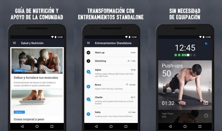 Imagen - Descarga Runtastic Results, la nueva app para un entrenamiento de 12 semanas