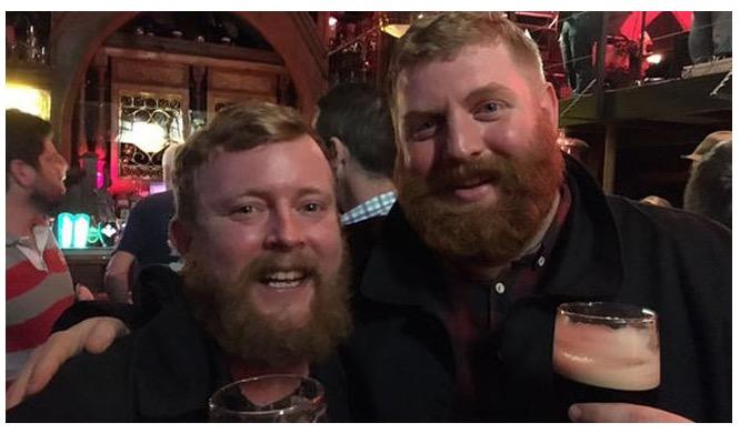 Imagen - El selfie de los barbudos idénticos se hace viral