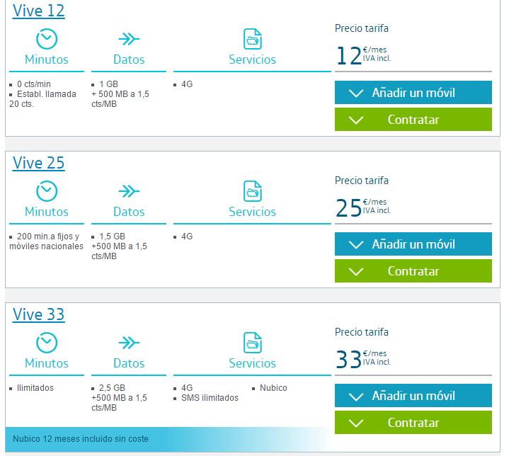 Imagen - Movistar subirá un euro las tarifas de contrato mientras que rebaja las de prepago