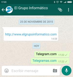 Imagen - WhatsApp bloquea Telegram