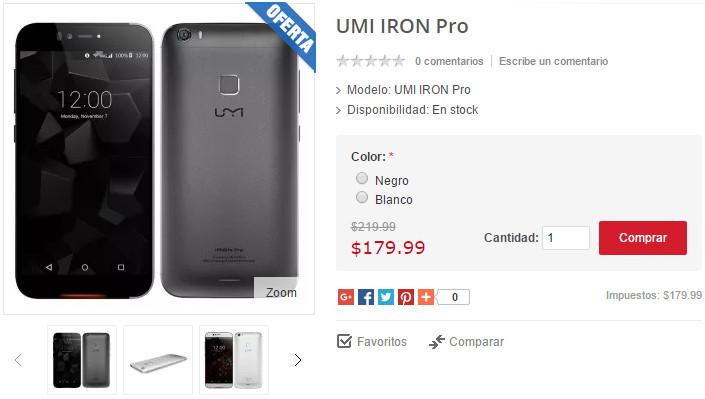 Imagen - Dónde comprar el UMI Iron Pro desde España