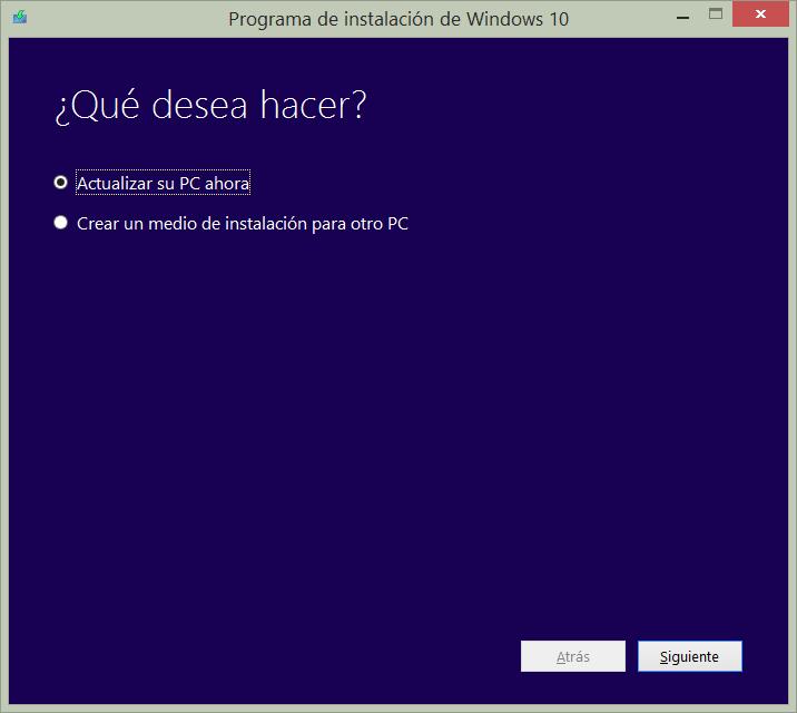 Imagen - Cómo forzar la actualización de Windows 10 de noviembre
