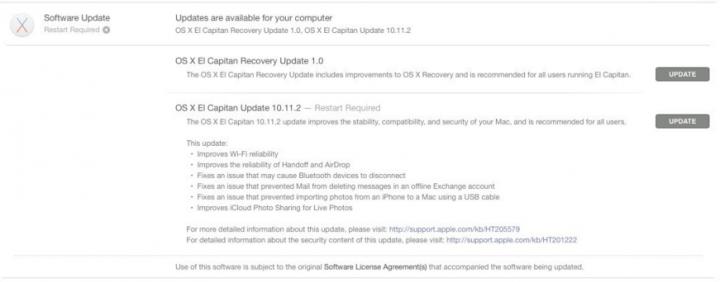 Imagen - Mac OS X 10.11.2 ya disponible para descargar