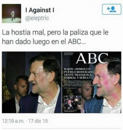 Imagen - Los mejores memes de la agresión a Rajoy por parte de un menor