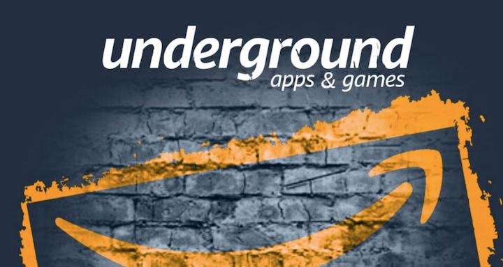 Consigue 1.000 aplicaciones gratis con Amazon Underground