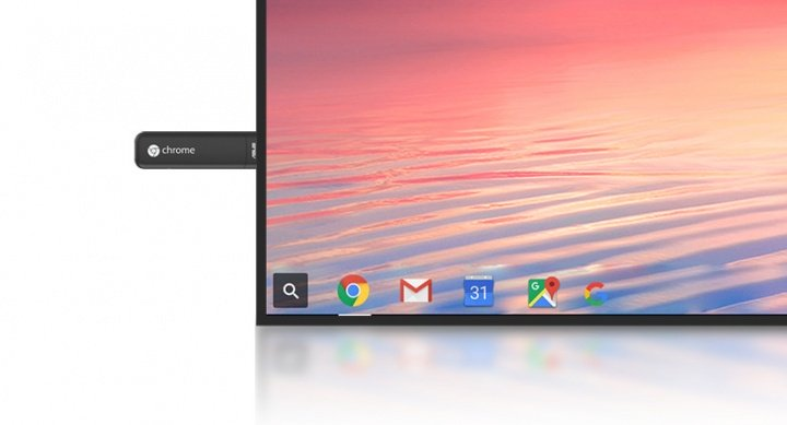 Chromebit CS10, transforma el televisor en Chrome OS