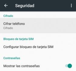 Imagen - Cómo cifrar tu smartphone Android