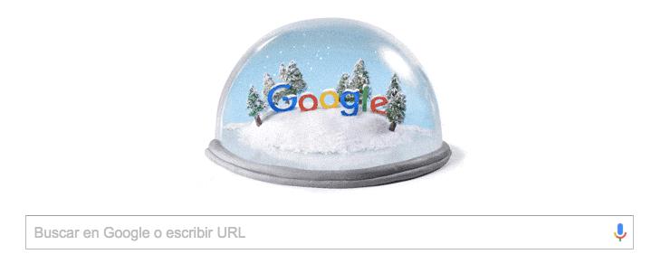 Imagen - Google celebra el solsticio de invierno con un Doodle