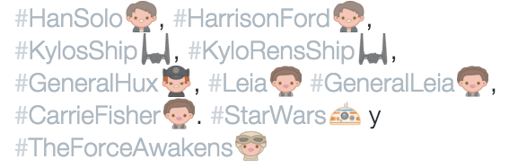 Imagen - Twitter añade un nuevo emoji en el estreno de Star Wars