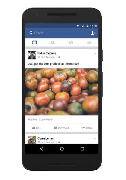 Imagen - Facebook mejora el timeline para conexiones lentas