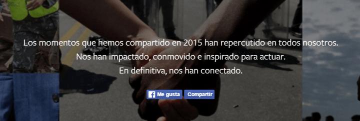 Imagen - El resumen del año 2015 según Facebook