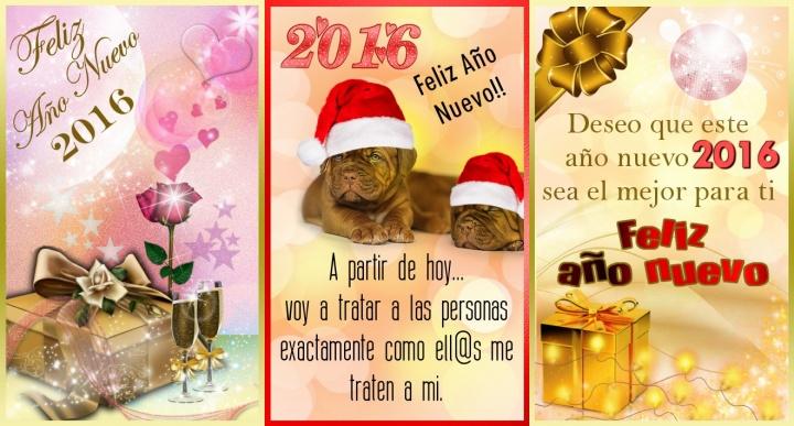Imagen - Cómo crear felicitaciones de Año Nuevo en el móvil