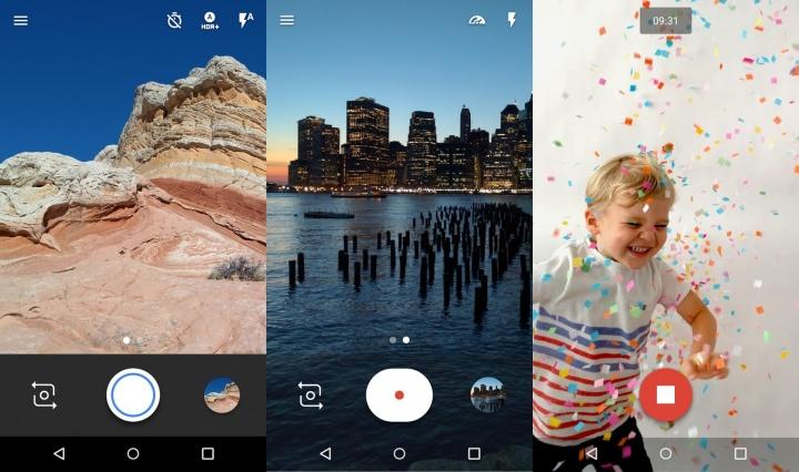 Imagen - Cámara de Google se actualiza con nueva interfaz