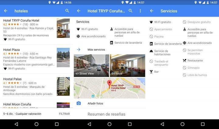 Imagen - Google Maps 9.18 para Android ya te dice si el hotel cuenta con Wi-Fi gratis