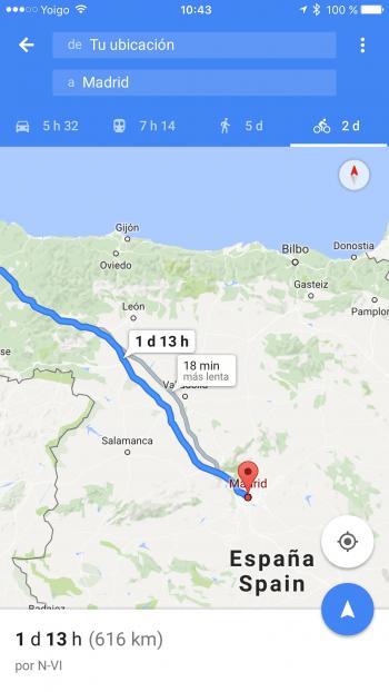 Imagen - Google Maps permitirá guardar mapas de rutas offline
