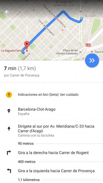 Imagen - Google Maps ya cuenta con rutas para bicis