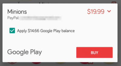 Imagen - Google Play Store ya permite pagos divididos
