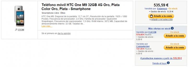 Imagen - 5 webs dónde comprar el HTC One M9