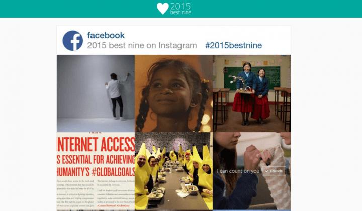 """Descubre cuáles son tus 9 fotos con más """"likes"""" en Instagram #2015bestnine"""