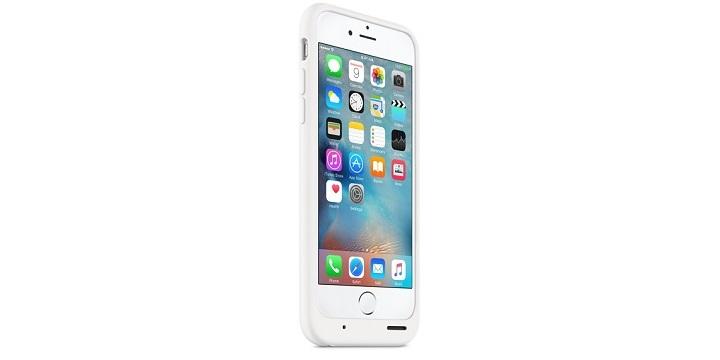 Apple lanza una funda oficial de iPhone 6s con batería