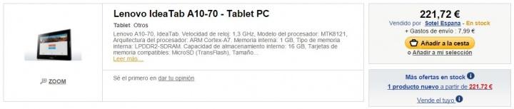 Imagen - Dónde comprar la Lenovo A10-70