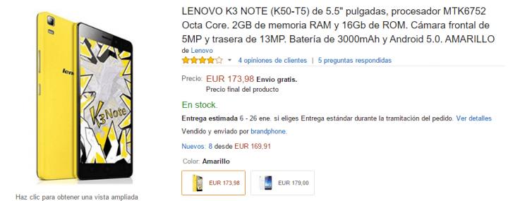Imagen - Dónde comprar el Lenovo K3 Note