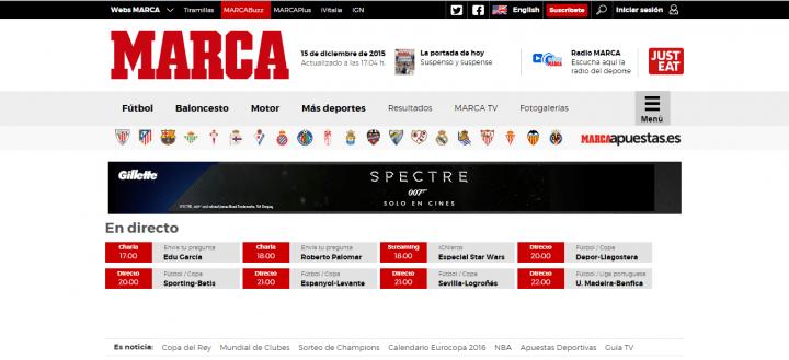 Imagen - Marca.com cambia de diseño