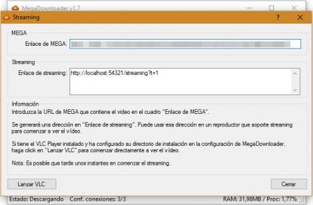 Imagen - Cómo ver online películas y series de Mega con MegaDownloader